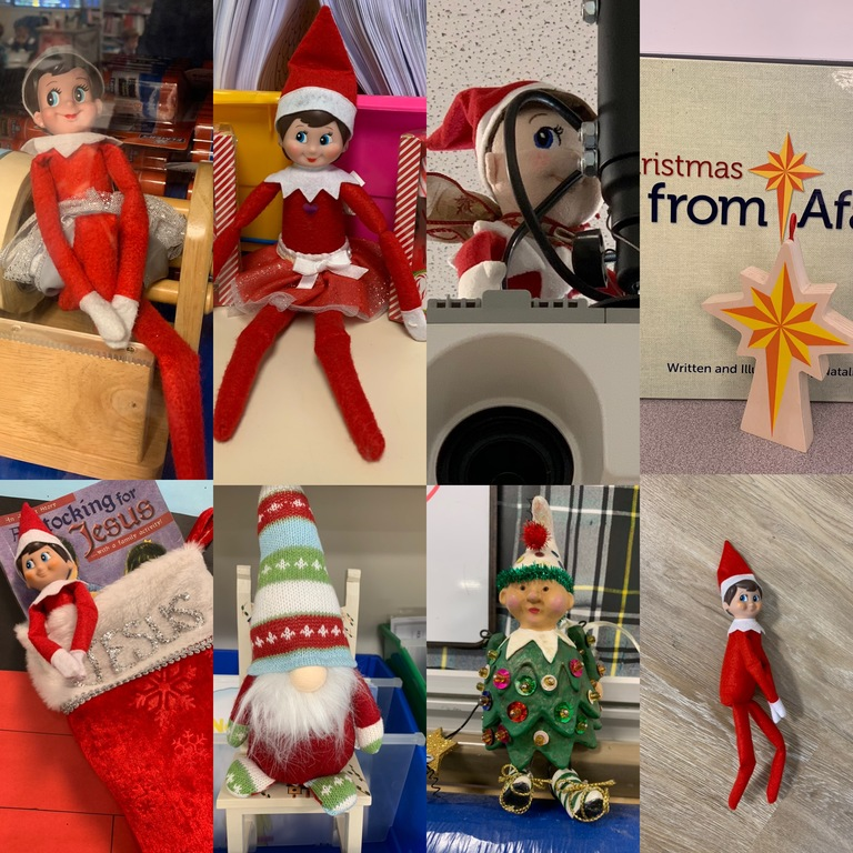 FESTIVE FRIENDS HELP TEACHERS KEEP A WATCHFUL EYE THIS HOLIDAY SEASON!