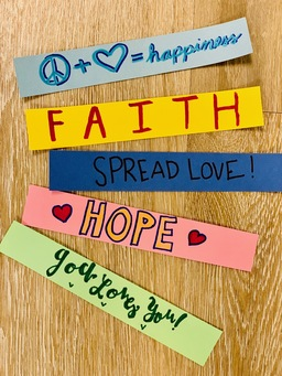 SPREADING FAITH, LOVE, AND HOPE!